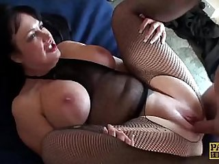 Big ass subslut fucked with no mercy