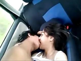 sexy desi Indian teen exposed in car