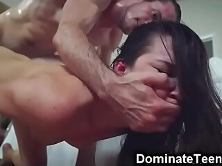 Teen Stepsis Brutally Fucked and Facialized!