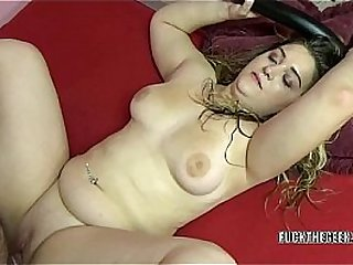 Young Dymond Rose sucks and fucks old guy