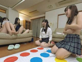 Ren Ichinose, Ayane Haruna, Harura Mori, and Yuzuka Shirai Living in a Share-house with Really Cute Girls Part 3 - AromaPlanning