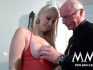 MMV Films Teen girl fucked by a grandpa