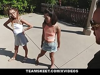 Teens get fucked by big cock
