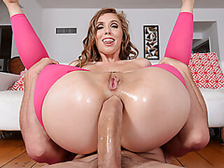 Huge cock anal sex with Lena Paul