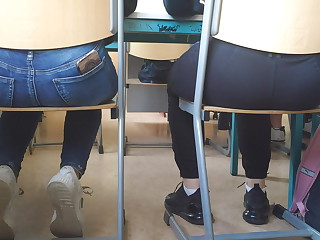 Hot Teen Asses in class