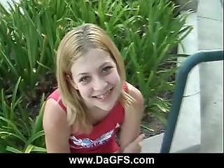 Fucking a schoolgirl with braces