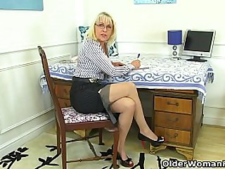 Mature lady Pandora from the UK puts her toy collection to work between her legs (now available in Full HD 1080P). Bonus video: English granny Lady Sextasy.